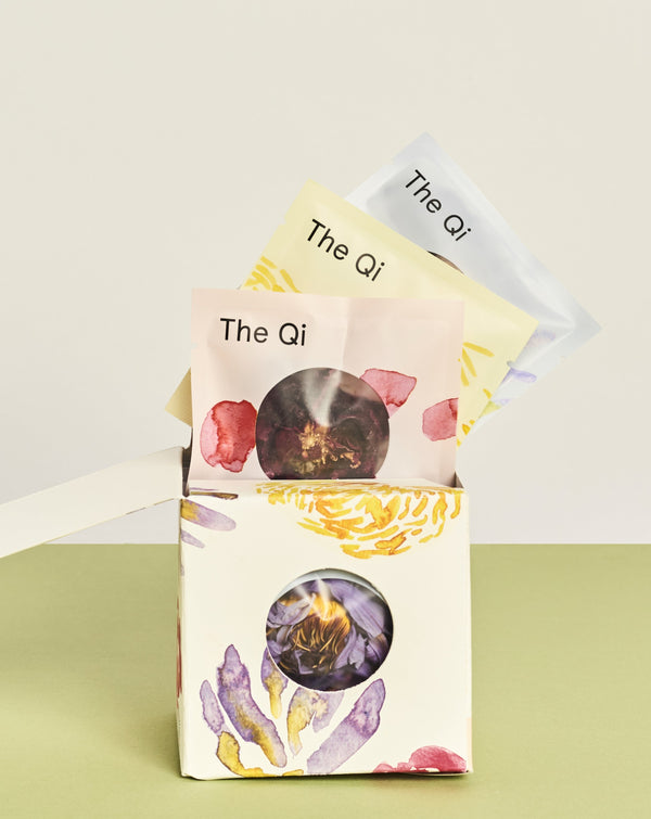 single flower tea packets