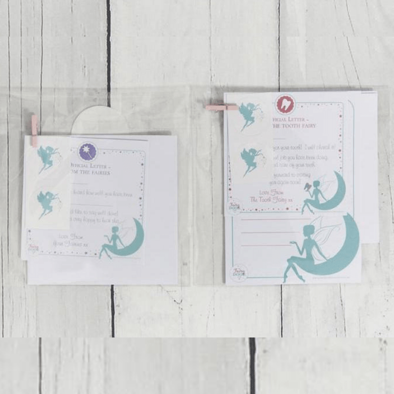 image about Free Printable Tooth Fairy Letter and Envelope identified as Teeth Fairy Letters