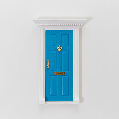 blue elf door