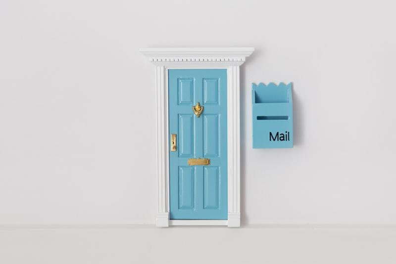 Elf Door with Mailbox