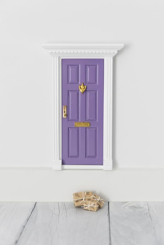 Elf Door with Parcels