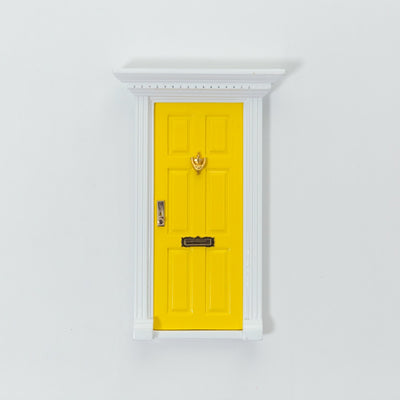 sunshine yellow elf door