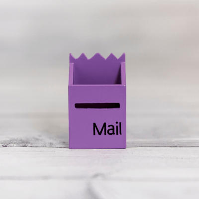 Purple Fairy Mailbox