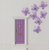 Fairy Door with Butterflies