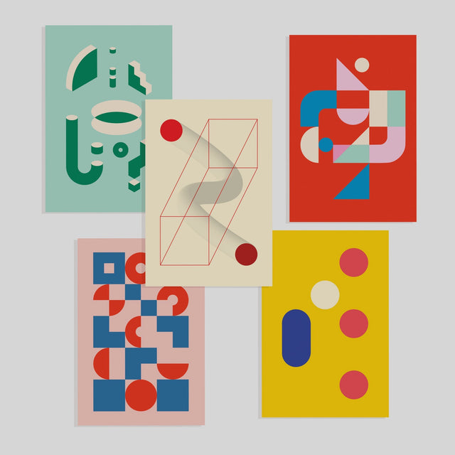 Bauhaus postcards (set of 5)