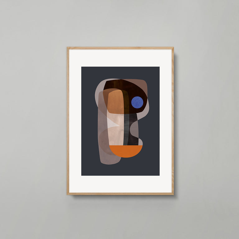 Abstract Cubism print