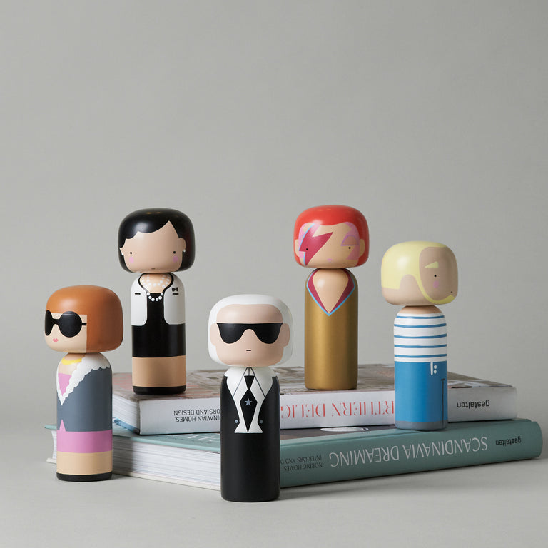 Kokeshi dolls fashion