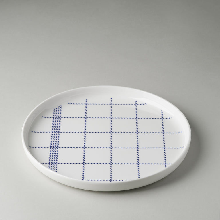 Mormor blue dinnerware collection