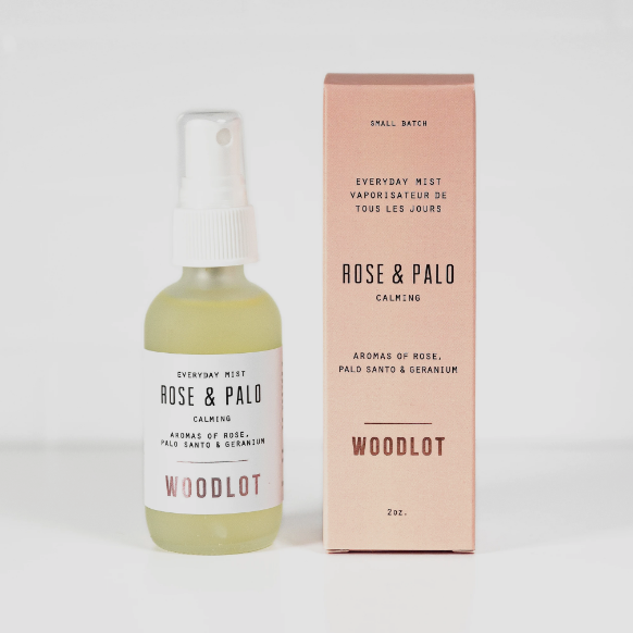 rose + santo palo everyday mist