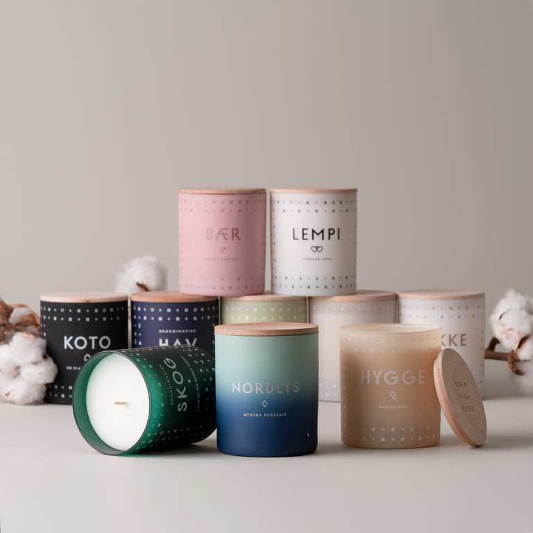 Skandinavisk scented candles