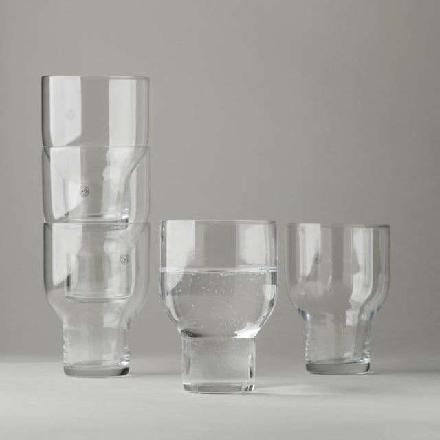 Stackable glass