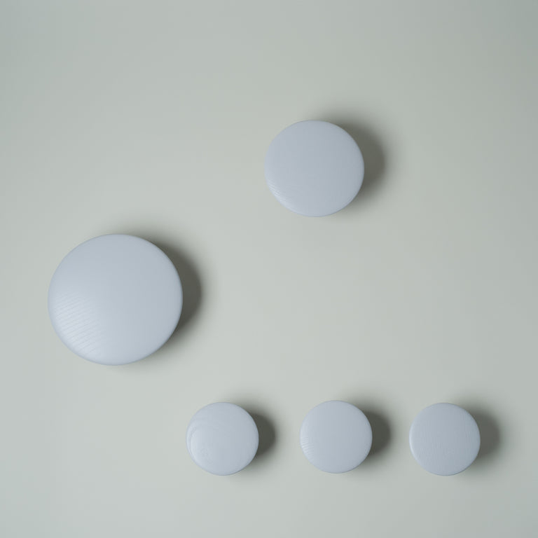 The Dots (set of 5 hooks)
