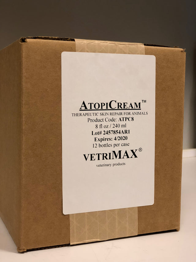 AtopiCream™ with Diphenhydramine (12ct/case) - vetrimaxproducts