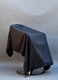 Black Haircut Cape Gown Drape Black Thread Products