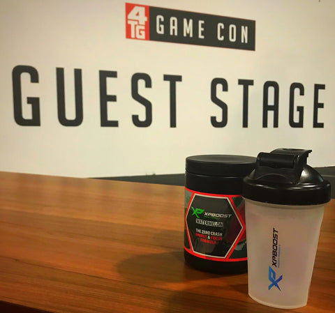 XPBOOST Energy and focus drink for the gaming and online community