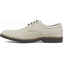 Cream - Plain Toe Oxford - EVA Sole