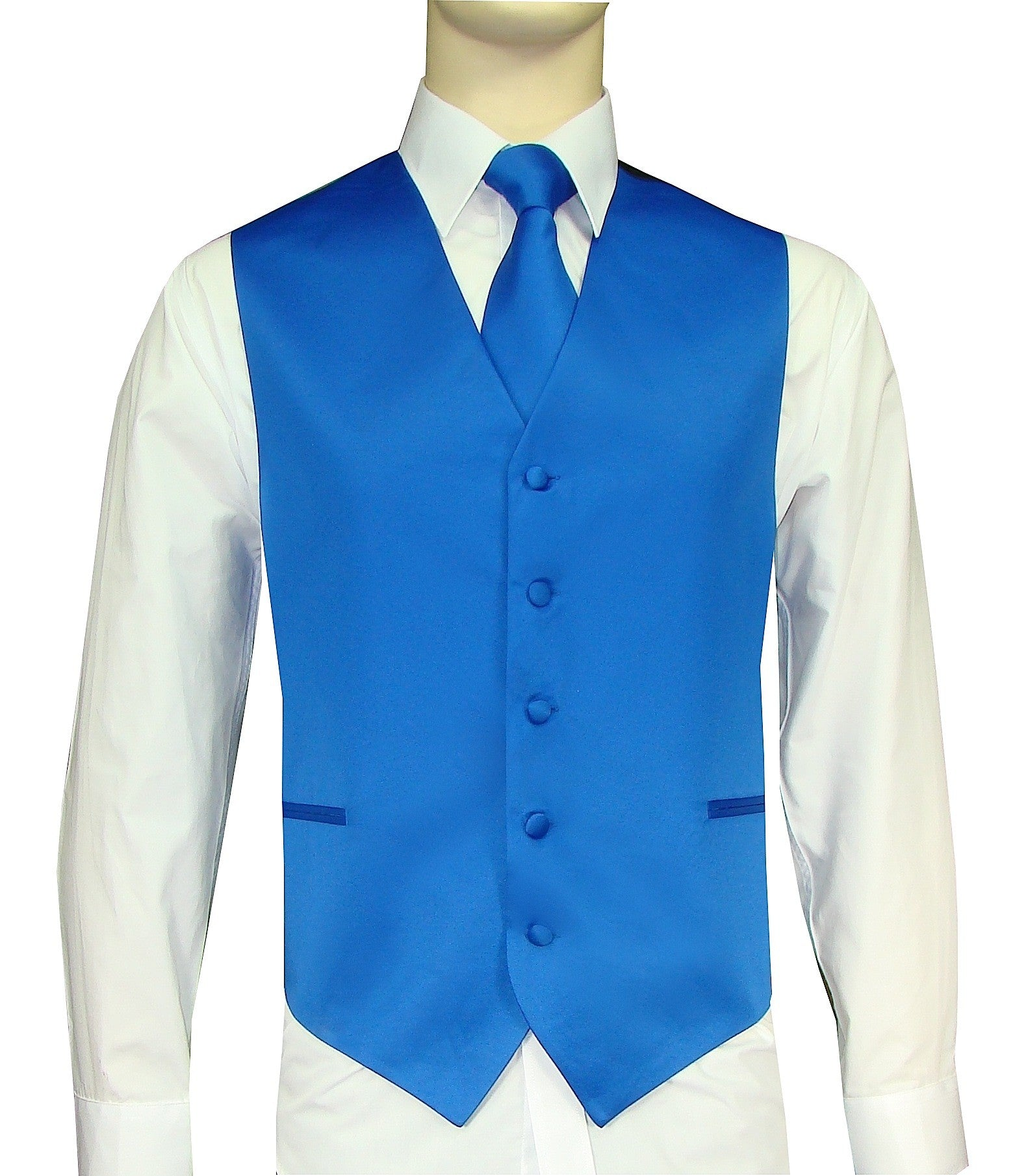 Royal Vest and Tie Set