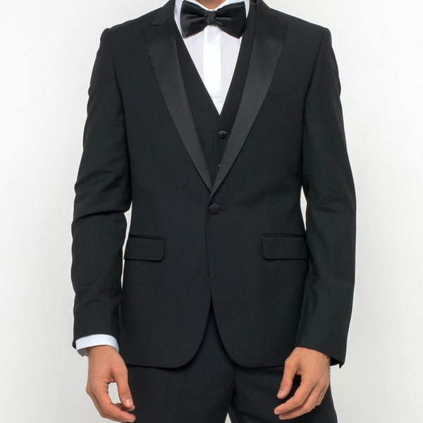 Black Three Piece Tuxedo