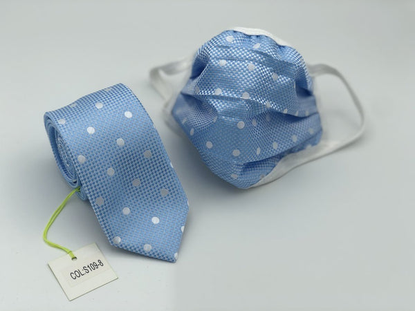 Mask and Tie Dot Set