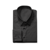 Slim Cut Black Dress Shirt