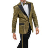 Gold Tuxedo With Gold Stripe Pants