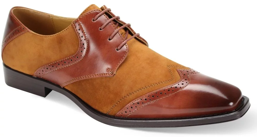 Tan Suede Style Shoe