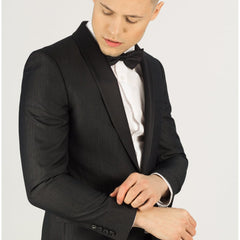 Black on Black Prom Blazer