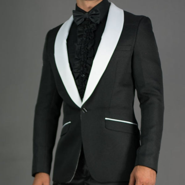 Black and White Prom Blazer
