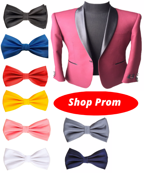 Prom Deal - Burgundy Tuxedo + Free Bowtie