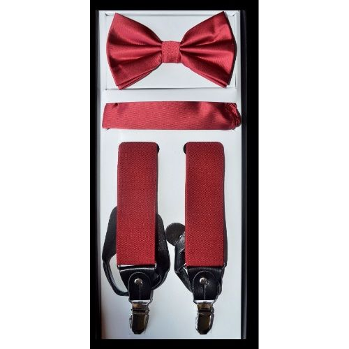 Suspender Bow-tie Set
