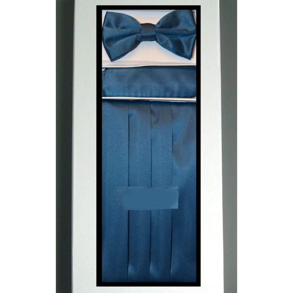 Dark Blue Cummerbund Set