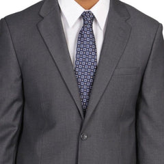 Dark Grey Three Piece Wedding Suit