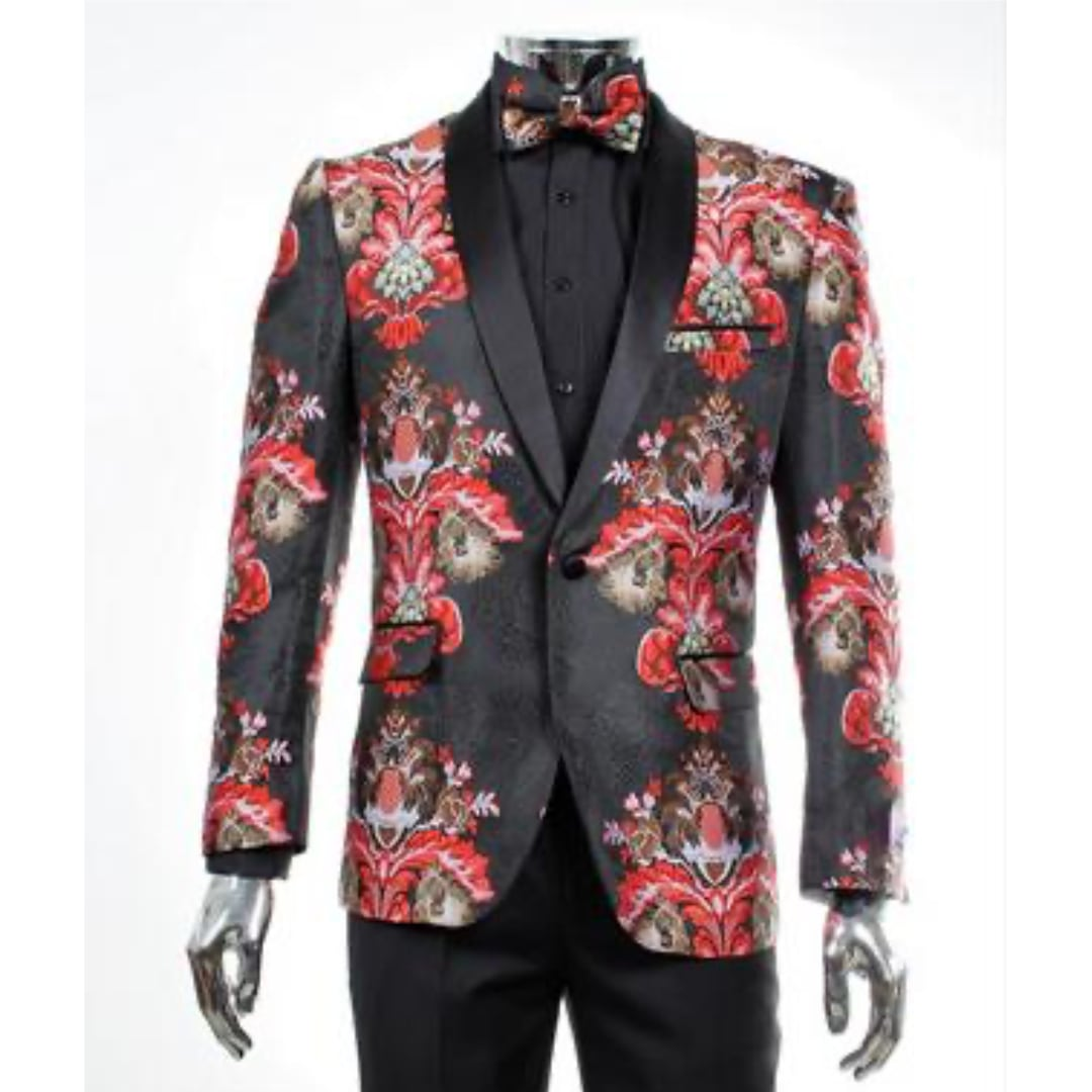 Red Empire Jacket Matching Bowtie