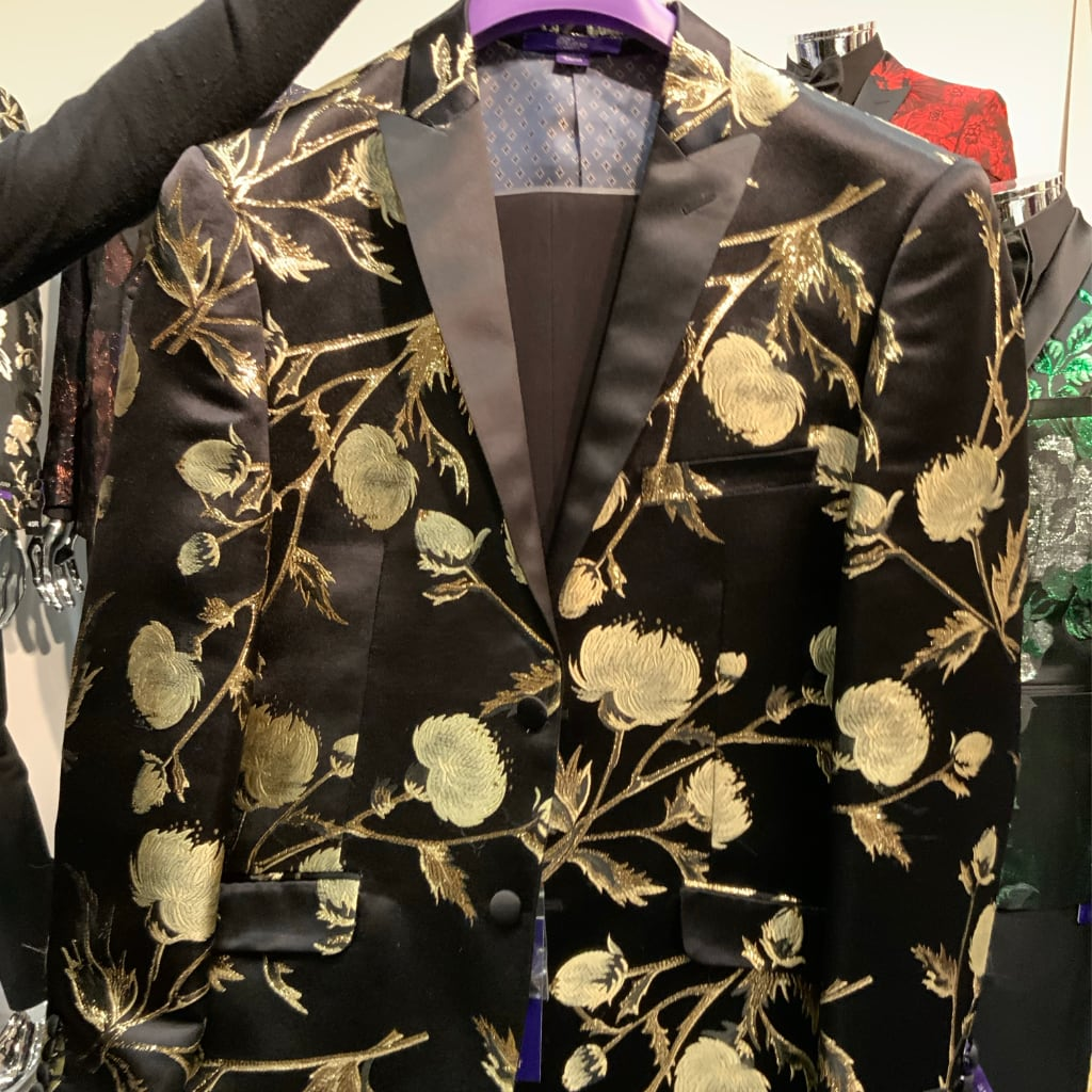 Golden Rose Jacket  + Matching Bowtie