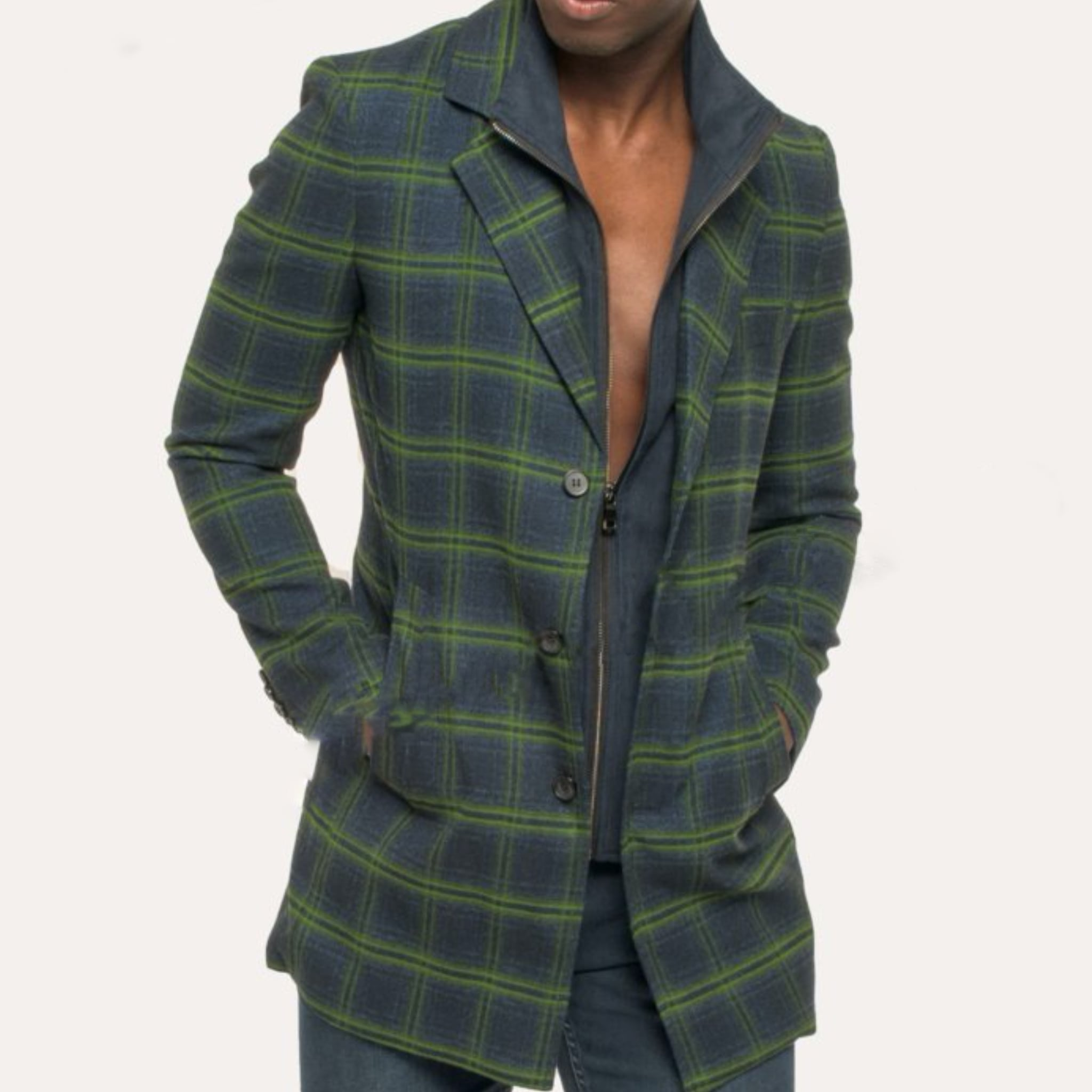 Navy/Green Jacket