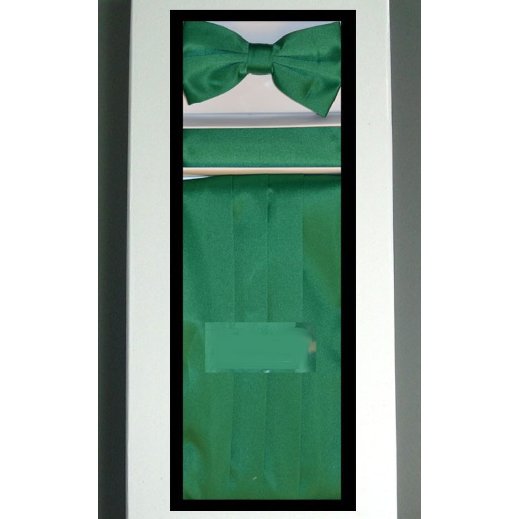 Green Cummerbund Set