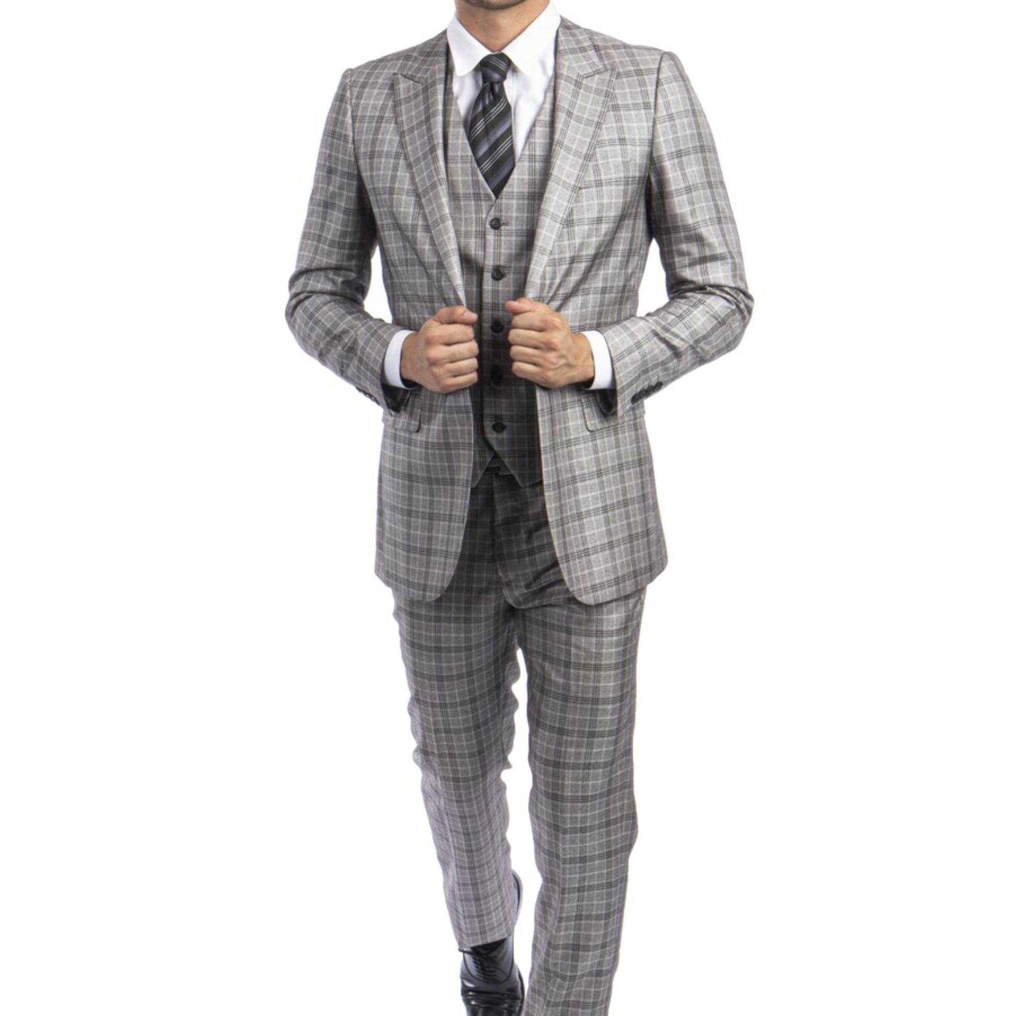 Grey on Grey Fall Suit