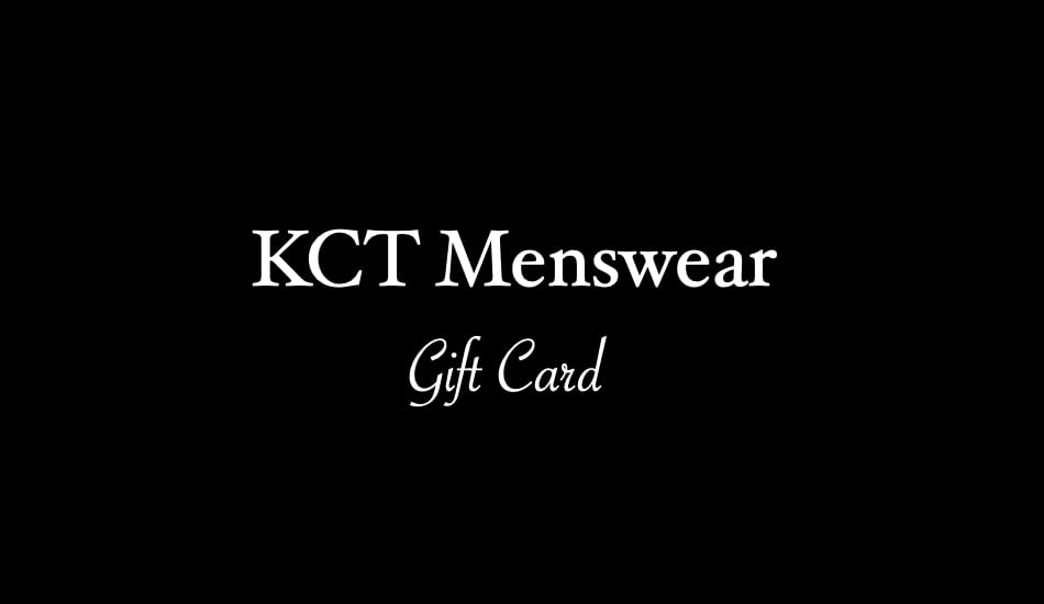 KCT Menswear Gift Card