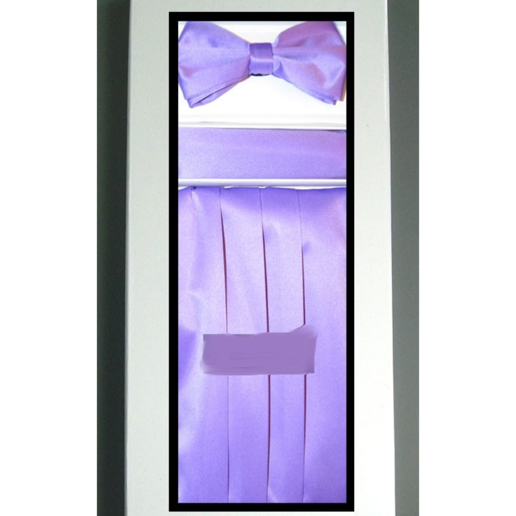 Light Purple Cummerbund Set
