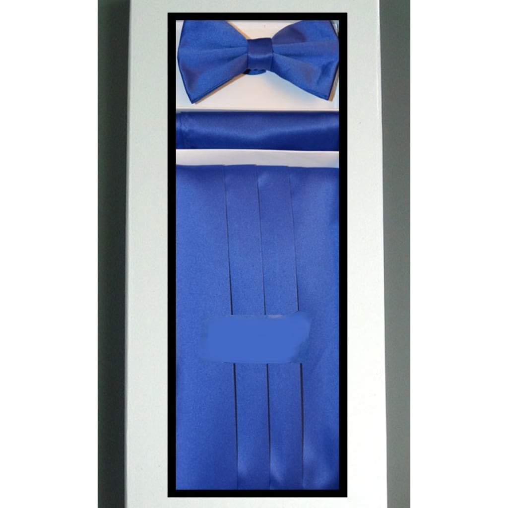 Royal Blue Cummerbund Set