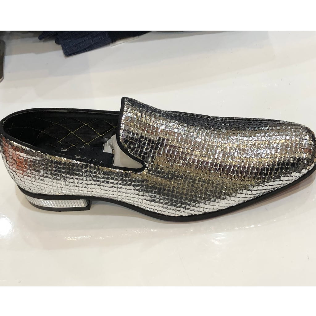 Silver Sequence Shoe