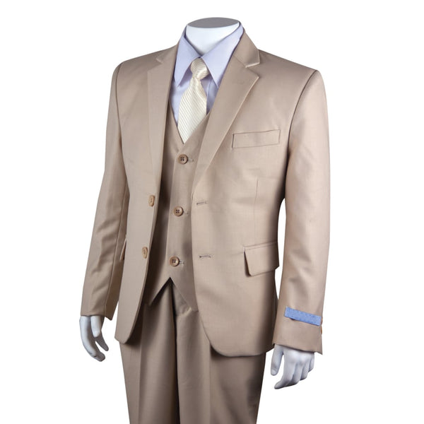 Tan Kids Suit
