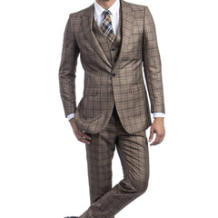 Taupe Fall Suit