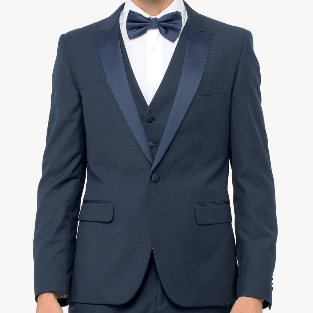 Navy Three Piece Tuxedo