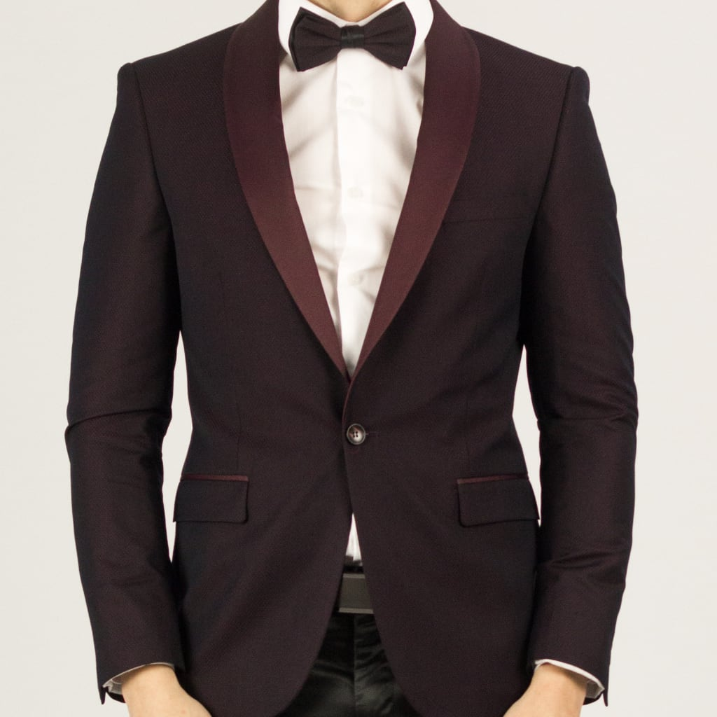 Wine on Wine Prom Blazer