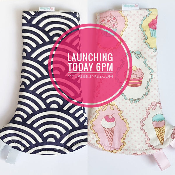 Exclusive My Babblings Reversible Curved Droolpads Launch!