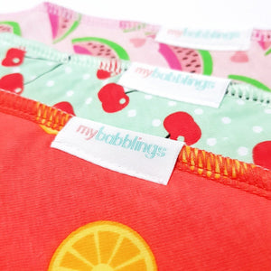 My Babblings Everyday Bandana Bib Set (Bundle of 3)-Bibs-My Babblings-Mixed Fruit Platter (Mixed set of 3)-My Babblings™