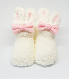 Furball Socks-Baby Socks-My Babblings-Alabaster White-My Babblings™