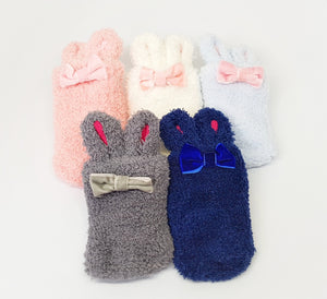 Furball Socks-Baby Socks-My Babblings-Royal Blue-My Babblings™