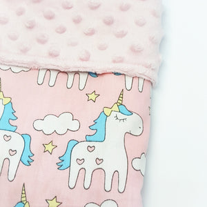 Reversible Minky Blanket 70x100cm (5 designs) - My Babblings™